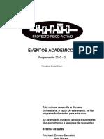 Programación eventos PSA