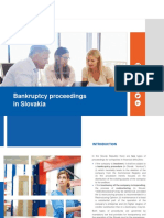 Bankruptcy proceedings in Slovakia