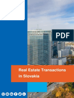 Real Estate Transactions in Slovakia