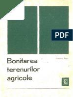Teaci Bonitarea Terenurilor Agricole