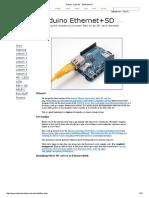 Arduino Tutorials - Ethernet+SD