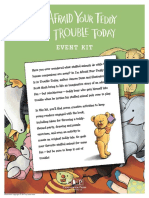 I'm Afraid Your Teddy Is in Trouble Today Event Kit