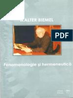 Walter Biemel - Fenomenologie si hermeneutica.pdf