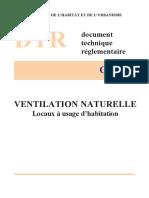 DTR C3.31 Ventilation Naturelle