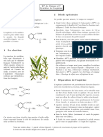 TP de Chimie n°7 2011 - Aspirine