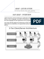 Sap Abap Quick Guide