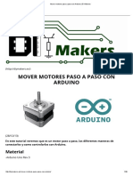 Mover Motores Paso a Paso Con Arduino _ DIYMakers