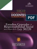 Universidad Nacional Mayor de San Marcos - Estudios-Generales-y-Responsabilidad-Social