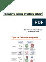 Respuesta Inmune Efectora Celular 2016