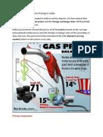 Gasoline Pricing Economics