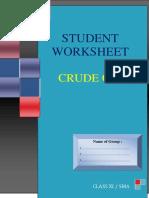 2. Worksheet Crude Oil Rev