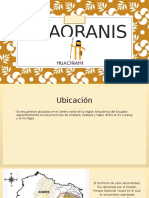 Huaoranis diapositivas