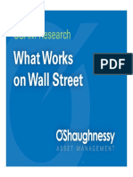 Money What Works on Wall Street Presentation