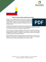 Procolombia - Perfil Logistico Ecuador