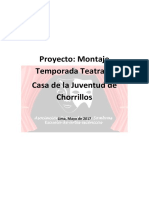 Proyecto CHORRILLOS