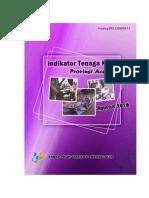 Indikator Tenaga Kerja Provinsi Aceh Agustus 2016