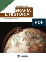 Muestra de Temario de Geografía e Historia 2017