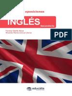 Muestra de Temario de Ingles Secundaria 2017