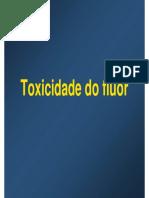 2008 Toxicidade Do Fluor UNICAMP
