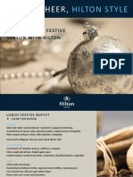 Hilton Toronto Holiday Events 2017