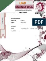 Informe de Geologia Sacsayhuaman