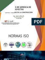 Semana 2 Conceptos de Gerencia de Proyectos - Introducción Normas ISO