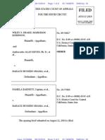BARNETT v OBAMA (APPEAL - 9th CIRCUIT - KREEP) - 19 - Filed clerk order