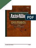 Axis & Allies 1942 2ª Edición Castellano