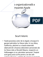 Cultura Organizațională a Companiei Apple
