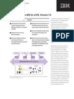 WebSphere MQ for zOS V7 Data Sheet