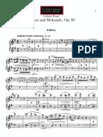 Pelleas and Melisande Op.80. flute part