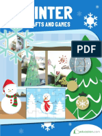 Winter Crafts and Games Activities
