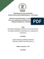 Estrategias pedagógicas mediante el uso de herramientas tecnológicas aplicadas al aprendizaje en la asignatura de computación.pdf
