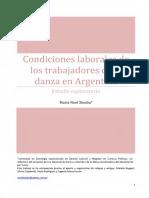 Condiciones Laborales de Los Trabajadores de La Danza en Argentina