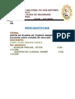 Informe de Mercatecnia