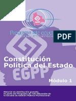 Modulo 1 Constitucion politica del estado Bolivia