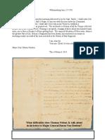 nelson-baron von steuben letter