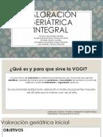 Valoración Geriátrica Integral