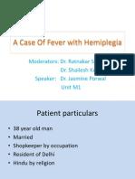 Fever With Hemiplegia - Copy