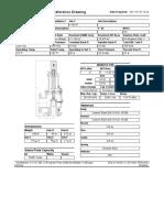 Data sheet válvula de seguridad y alivio