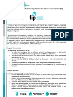 IPSF FIP Internship Call for Fall 2017