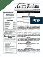 Acuerdo Gubernativo 95-2012