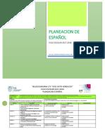 Mis Planeaciones Español-4to