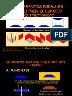 Los Elementos Formales-espacio Arqu.