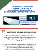Presentación Ultrasonido Phased Array - TOFD (1)