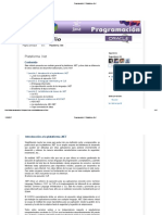 Programacion I_ Plataforma