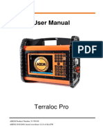 ABEM Terraloc Pro User Manual