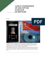 China Obliga a Ciudadanos a Instalar Una App de Vigilancia en Sus Teléfonos