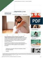 Definiendo La Depresión y Sus Síntomas - La Mente Es Maravillosa