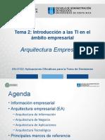 DN0102 - Tema_2e Arquitectura Empresarial